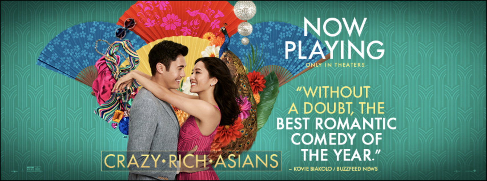 Crazy Rich Asians Official Facebook Cover
