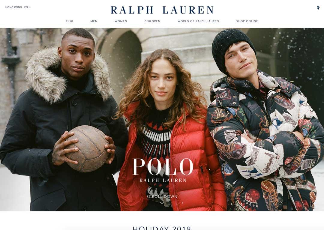 RalphLauren.asia - website screenshot